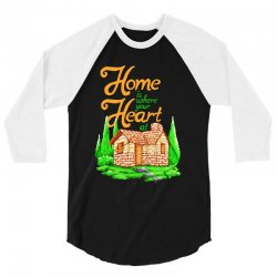 home is where your heart at 3/4 Sleeve Shirt | Artistshot