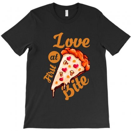 Love At First Bite T-shirt Designed By Ninabobo