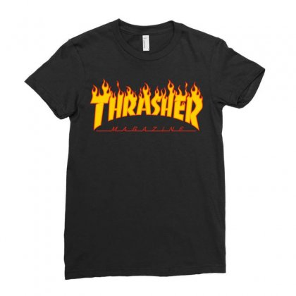 Thrasher Ladies Fitted T-shirt
