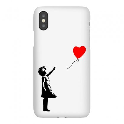 Banksy Girl With Balloon Iphonex Case Designed By Toweroflandrose