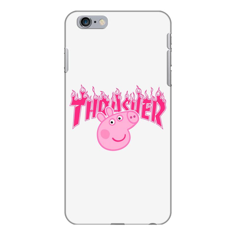 official photos 8ad58 daac4 Thrasher Peppa Pig Iphone 6 Plus/6s Plus Case. By Artistshot