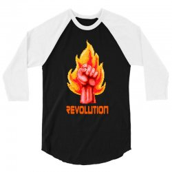 revolution 3/4 Sleeve Shirt | Artistshot