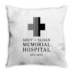 Custom Grey Sloan Memorial Hospital Throw Pillow By Toweroflandrose Artistshot