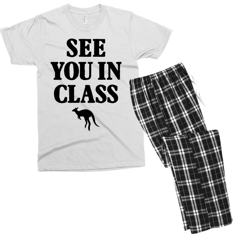 See You In Class For Light Men's T-shirt Pajama Set | Artistshot