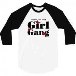 girl gang for light 3/4 Sleeve Shirt | Artistshot