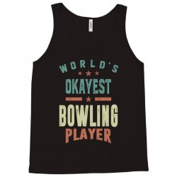 Bowling Player Tank Top | Artistshot