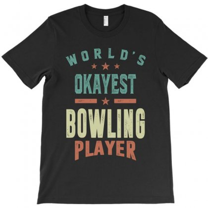 Bowling Player T-shirt Designed By Cidolopez