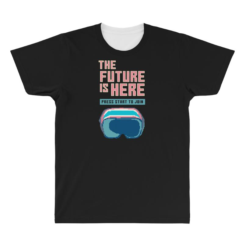 The Future Is Here All Over Men's T-shirt | Artistshot