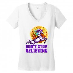 unicorn Women's V-Neck T-Shirt | Artistshot