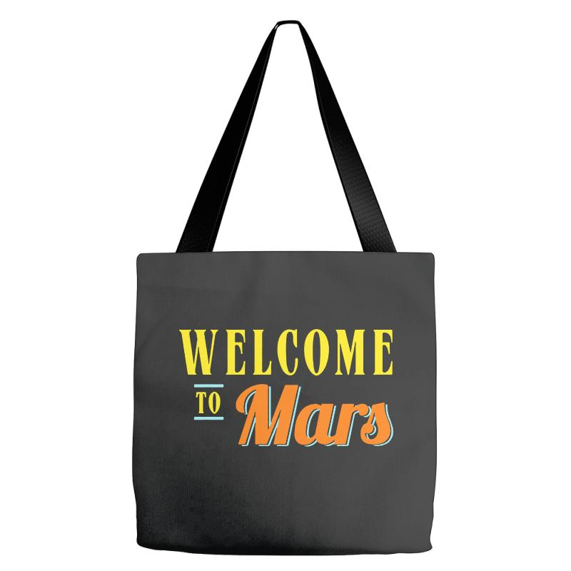 Welcome To Mars Tote Bags | Artistshot