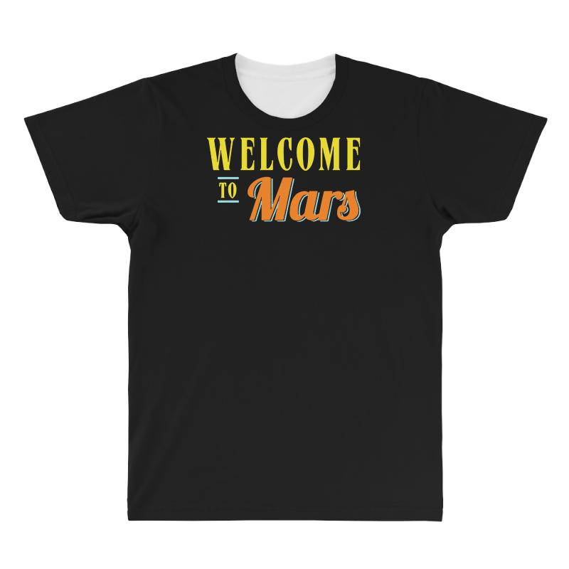 Welcome To Mars All Over Men's T-shirt | Artistshot