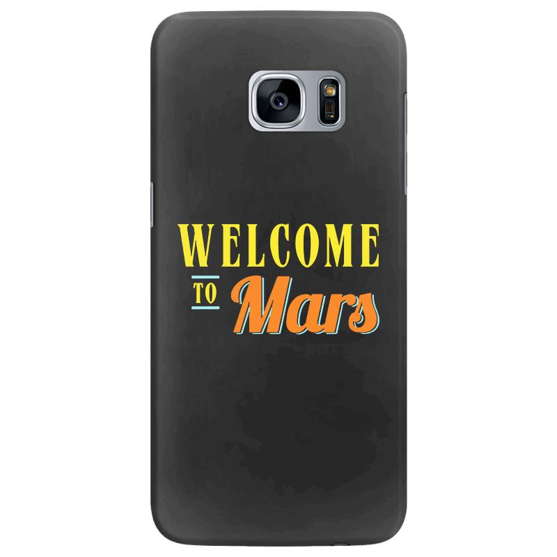 Welcome To Mars Samsung Galaxy S7 Edge Case | Artistshot