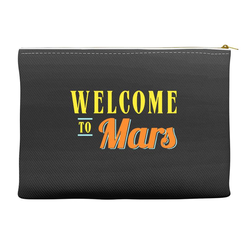 Welcome To Mars Accessory Pouches | Artistshot