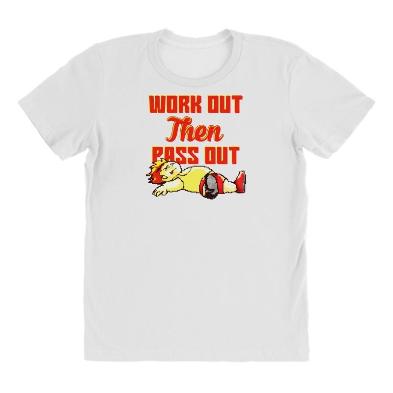 Work Out Then Pass Out All Over Women's T-shirt | Artistshot