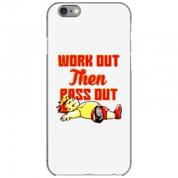 work out then pass out iPhone 6/6s Case | Artistshot