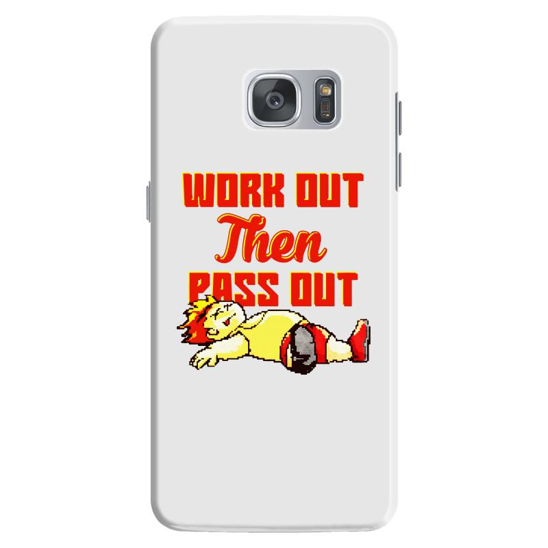 Work Out Then Pass Out Samsung Galaxy S7 Case   Artistshot