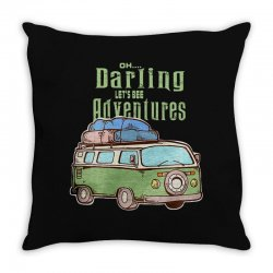 be adventurers Throw Pillow | Artistshot