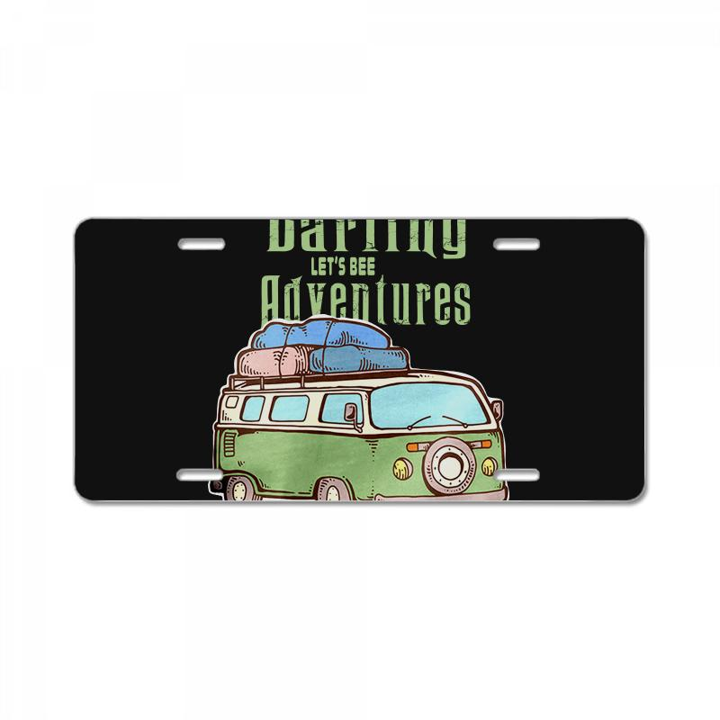 Be Adventurers License Plate | Artistshot