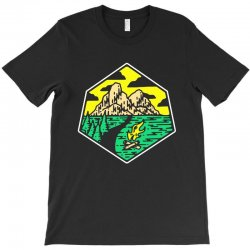 camp badge T-Shirt | Artistshot