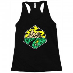 camp badge Racerback Tank | Artistshot