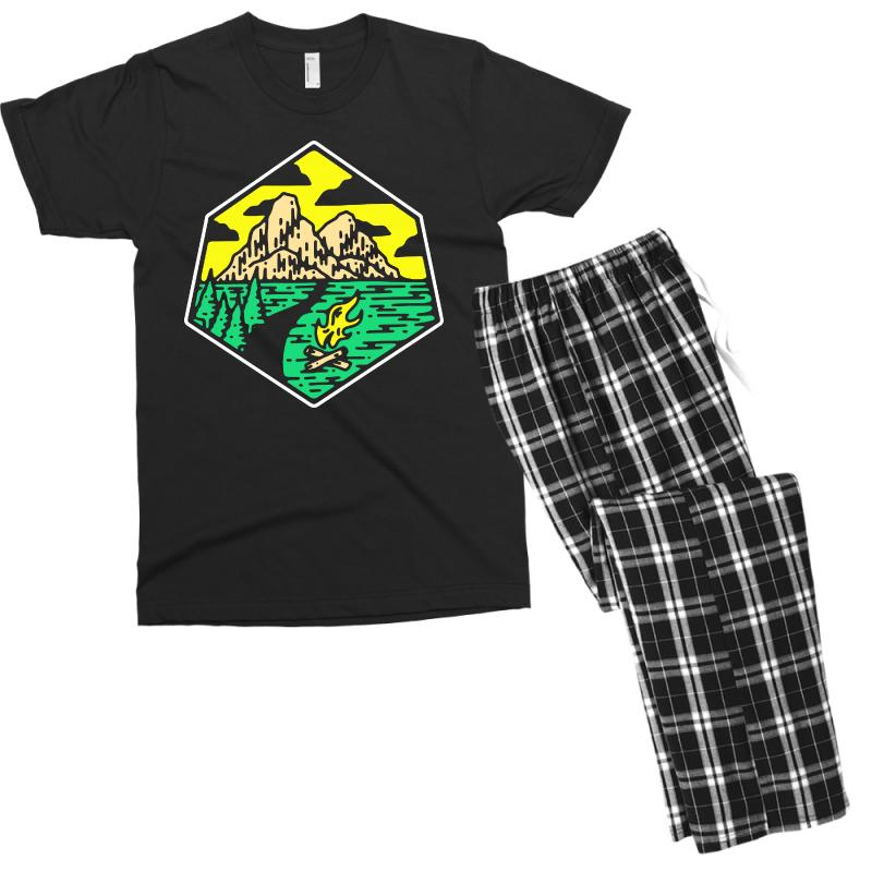 Camp Badge Men's T-shirt Pajama Set | Artistshot