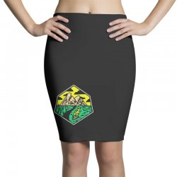 camp badge Pencil Skirts | Artistshot