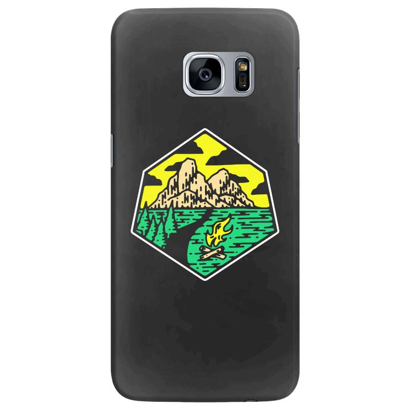 Camp Badge Samsung Galaxy S7 Edge Case | Artistshot