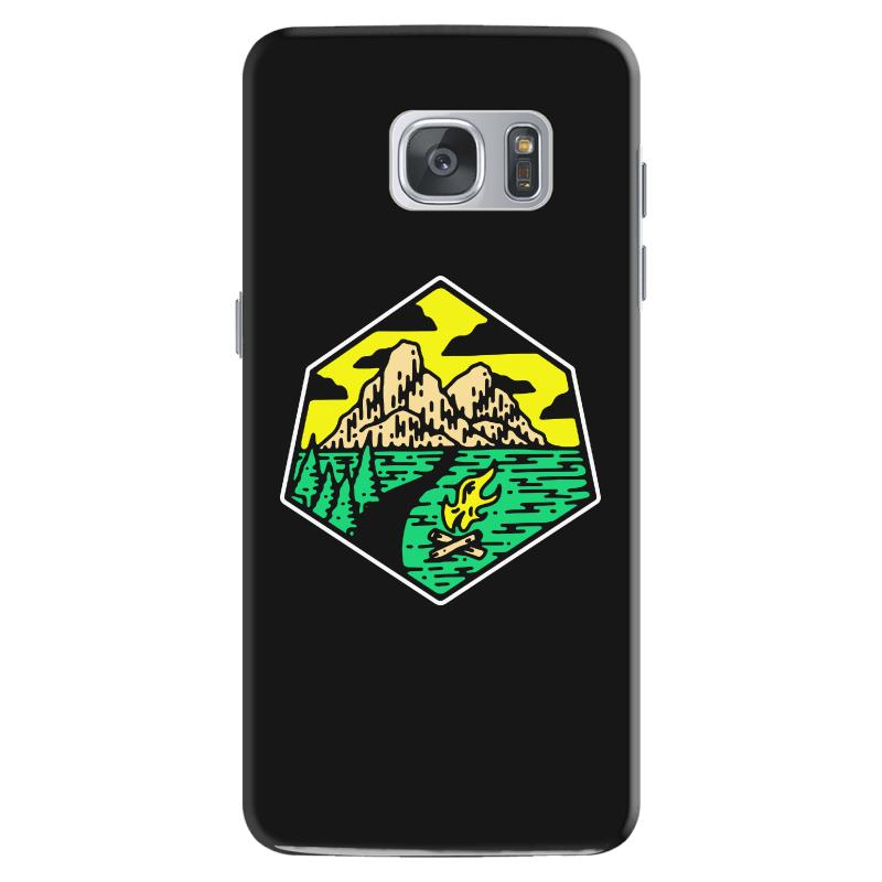 Camp Badge Samsung Galaxy S7 Case | Artistshot
