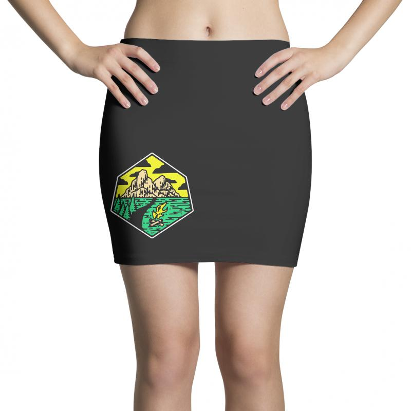 Camp Badge Mini Skirts | Artistshot