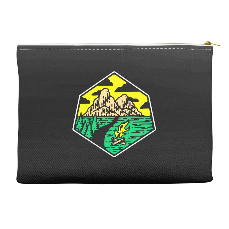 Camp Badge Accessory Pouches | Artistshot