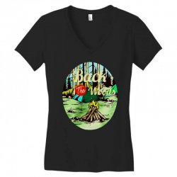 camp fire Women's V-Neck T-Shirt | Artistshot