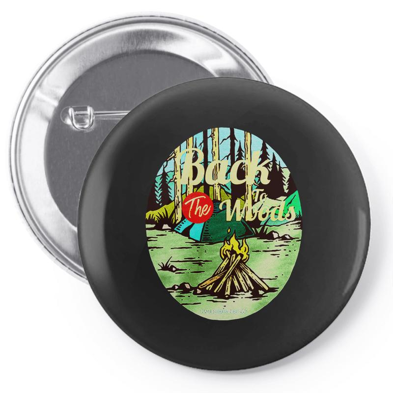Camp Fire Pin-back Button | Artistshot