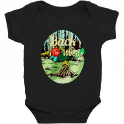 camp fire Baby Bodysuit | Artistshot