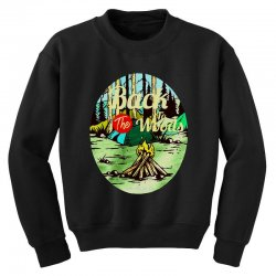 camp fire Youth Sweatshirt | Artistshot