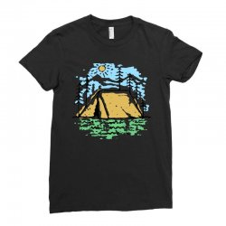 camper Ladies Fitted T-Shirt | Artistshot