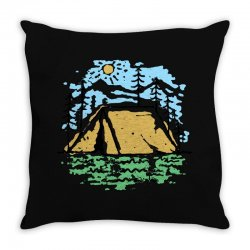 camper Throw Pillow | Artistshot