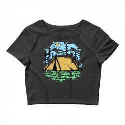 camper Crop Top | Artistshot