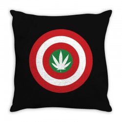 capt amerijuanna Throw Pillow | Artistshot