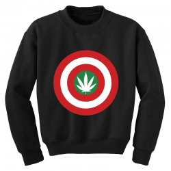 capt amerijuanna Youth Sweatshirt | Artistshot