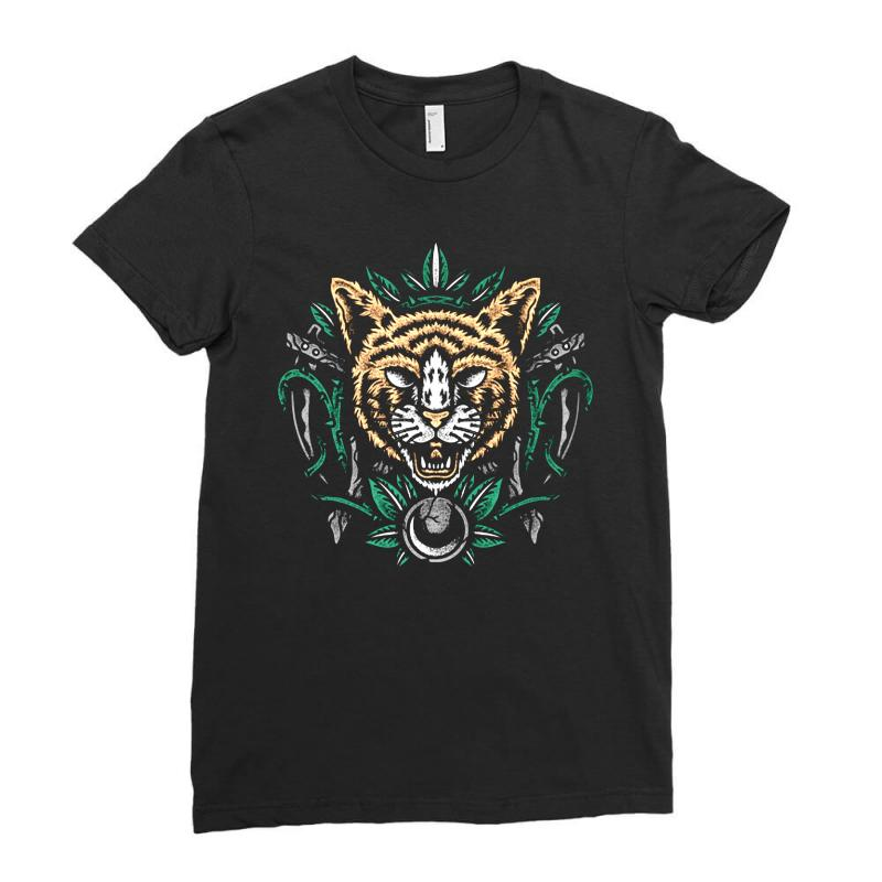 Cats Ladies Fitted T-shirt | Artistshot