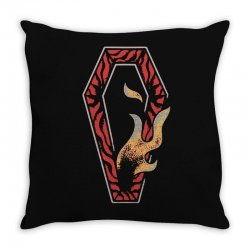 coffin Throw Pillow | Artistshot