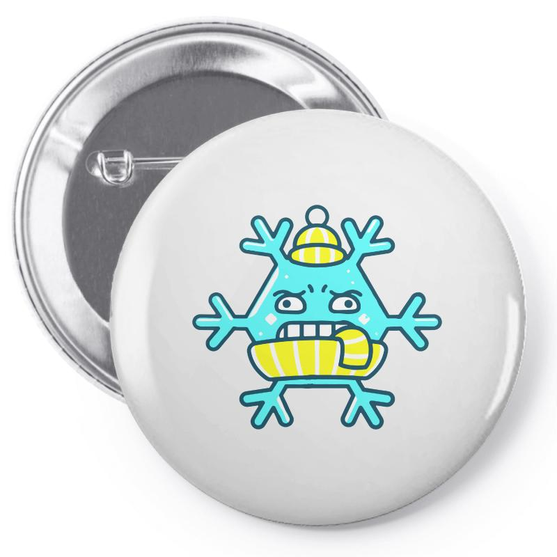 Cold Ice Pin-back Button | Artistshot