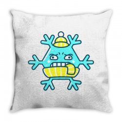 cold ice Throw Pillow | Artistshot