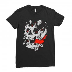 crackskull Ladies Fitted T-Shirt | Artistshot