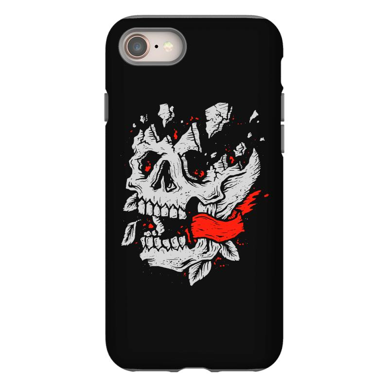 Crackskull Iphone 8 Case | Artistshot