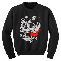 crackskull Youth Sweatshirt | Artistshot