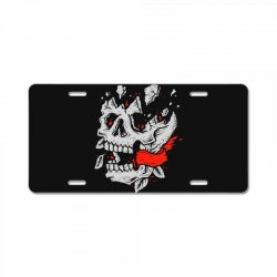 crackskull License Plate | Artistshot