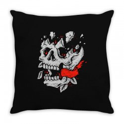 crackskull Throw Pillow | Artistshot