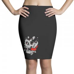 crackskull Pencil Skirts | Artistshot