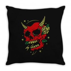 devils 02 copy Throw Pillow | Artistshot